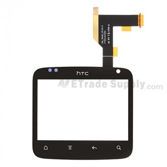 For HTC Status Digitizer Touch Screen without Adhesive - With Logo - Grade S+