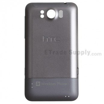 For HTC Titan Rear Housing Replacement - Silver Grey - Grade S+