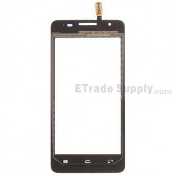 For Huawei Ascend G510 Digitizer Touch Screen Replacement - Black - With Logo - Grade S+