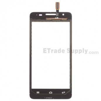For Huawei Ascend G510 Digitizer Touch Screen Replacement - White - With Logo - Grade S+