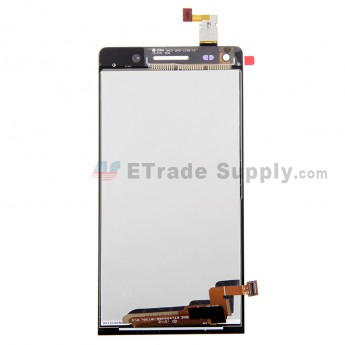 For Huawei Ascend G6 LCD Screen and Digitizer Assembly Replacement - Black - With Logo - Grade S+