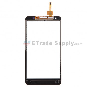 For Huawei Ascend G750 Digitizer Touch Screen Replacement - White - With Logo - Grade S+