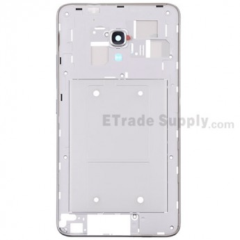 For Huawei Ascend Mate2 4G Middle Plate Replacement - White - Grade S+