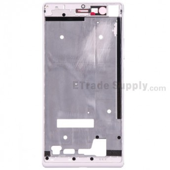 For Huawei Ascend P7 Front Housing Replacement - White - Grade S+