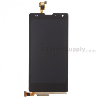 For Huawei Honor 3C LCD Screen and Digitizer Assembly Replacement - Black - Without Any Logo - Grade S+