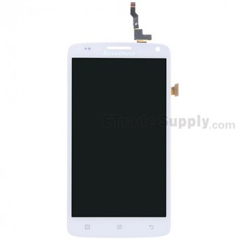 For Lenovo A628T LCD Screen and Digitizer Assembly Replacement - White - Grade S+