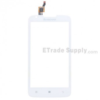 For Lenovo A680 Digitizer Touch Screen Replacement - White - Grade S+