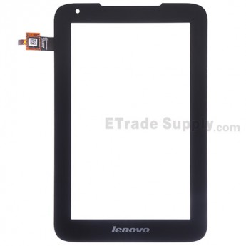 For Lenovo IdeaTab A1000L Digitizer Touch Screen Replacement - Black - Grade S+