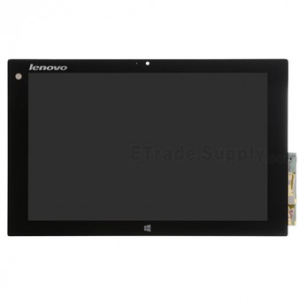 For Lenovo Miix 10 LCD Screen and Digitizer Assembly Replacement - Black - With Logo - Grade S+