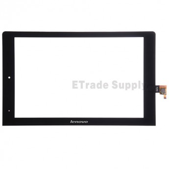 For Lenovo Yoga Tablet 10 B8000 Digitizer Touch Screen Replacement - Black - With Logo - Grade S+
