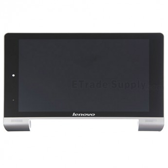 For Lenovo Yoga Tablet 8 B6000 LCD Screen and Digitizer Assembly with Front Housing Replacement - Black - Grade S+