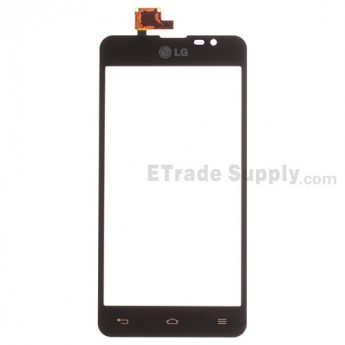 For LG Escape P870 Digitizer Touch Screen Replacement - Black - With Logo - Grade S+