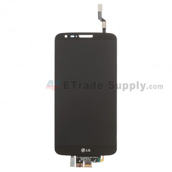 For LG G2 D802 LCD Screen and Digitizer Assembly Replacement - Black - With Logo - Grade S
