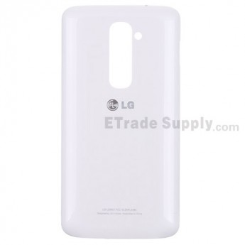 For LG G2 LG980 Battery Door Replacement - White Only - Grade S+