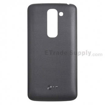 For LG G2 Mini D620 Battery Door Replacement - Black - With Logo - Grade S+