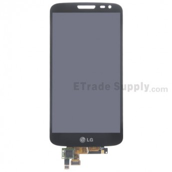 For LG G2 Mini D620 LCD Screen and Digitizer Assembly Replacement - Black - With Logo - Grade S+
