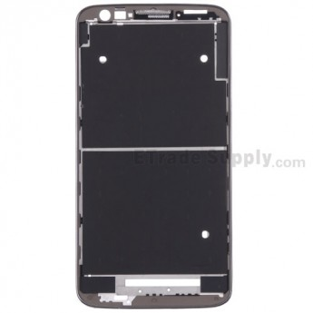 For LG G2 VS980 Front Housing Replacement - Black - Grade S+