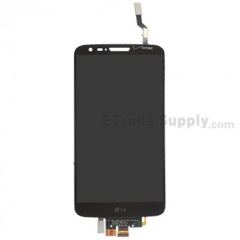 For LG G2 VS980 LCD Screen and Digitizer Assembly Replacement - Black - With Logo - Grade A