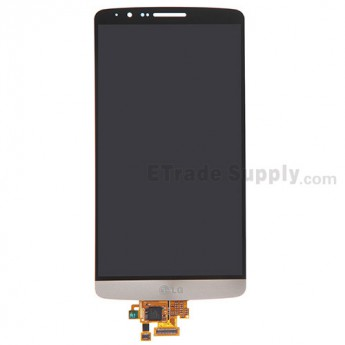 For LG G3 D850 LCD Screen and Digitizer Assembly Replacement - Gold - With Logo - Grade S+