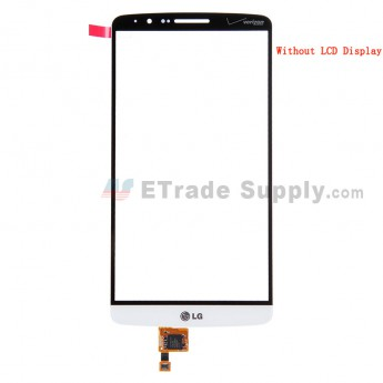 For LG G3 VS985 Digitizer Touch Screen Replacement - White - With Logo - Grade S+