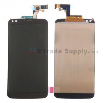 For LG G Flex D950 LCD Screen and Digitizer Assembly Replacement - Black - Without Any Logo - Grade S+