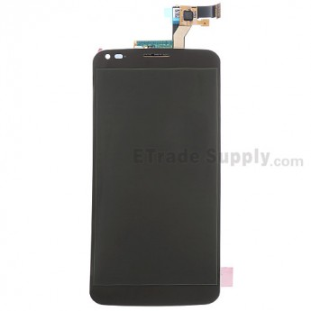 For LG G Flex F340 LCD Screen and Digitizer Assembly Replacement - Black - Without Any Logo - Grade S+