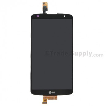 For LG G Pro 2 D838 LCD Screen and Digitizer Assembly Replacement - Black - With Logo - Grade S+