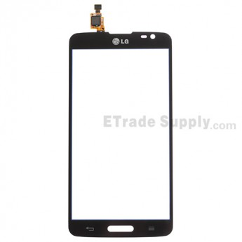 For LG G Pro Lite D680 Digitizer Touch Screen Replacement - Black - With Logo - Grade S+
