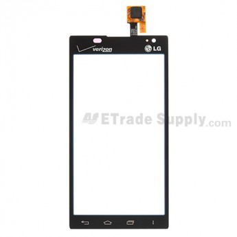 For LG Lucid 2 VS870 Digitizer Touch Screen Replacement ,Black- Grade S+