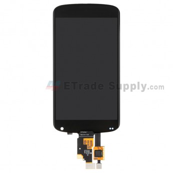 For LG Nexus 4 E960 LCD Screen and Digitizer Assembly Replacement - Black - Without Carrier Logo - Grade S+