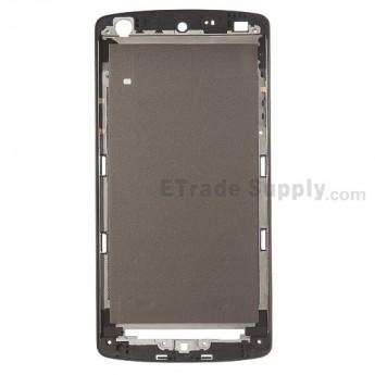 For LG Nexus 5 D820 Front Housing Replacement (Black Ear Speaker Mesh Cover) - Black - Grade S+
