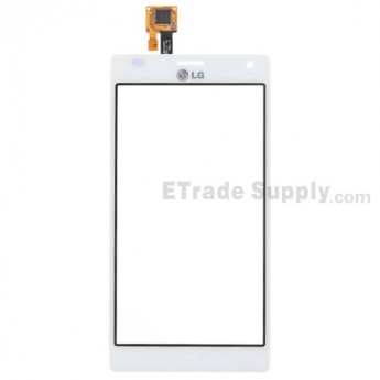 For LG Optimus 4X HD P880 Digitizer Touch Screen Replacement - White - Grade S+