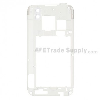 For LG Optimus Black P970 Rear Housing Replacement ,White - Grade S+