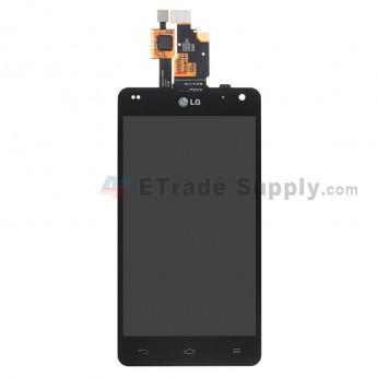 For LG Optimus G E971 LCD Screen and Digitizer Assembly  Replacement ,Black, With Logo - Grade S+