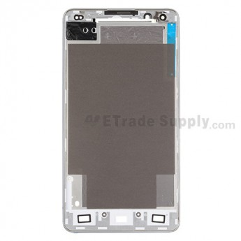 For LG Optimus G F180 Front Housing Replacement - White - Grade S+