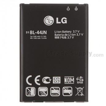 For LG Optimus Hub, Univa E510 Battery  Replacement - Grade S+