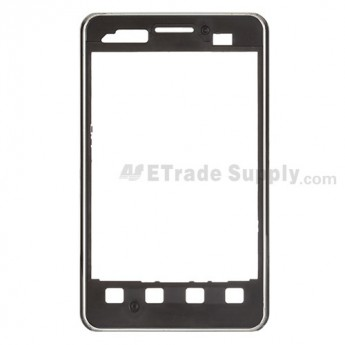 For LG Optimus L3 Dual E405 Front Housing Replacement - Black - Grade S+
