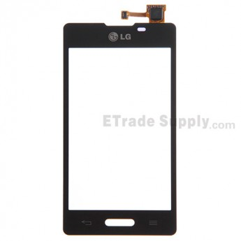 For LG Optimus L5 II E460 Digitizer Touch Screen Replacement - Black - Grade S+