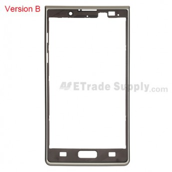 For LG Optimus L7 P700, P705 Front Housing Replacement ,White, Version B - Grade S+