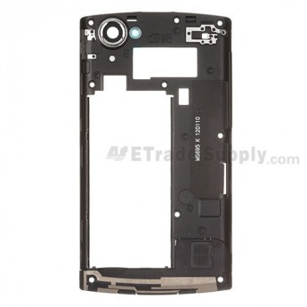 For LG Optimus M+ MS695 Rear Housing Replacement ,Black - Grade S+