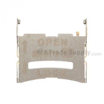 For LG Optimus One P504 SD Card Slot Metal Retainer Replacement - Grade S+