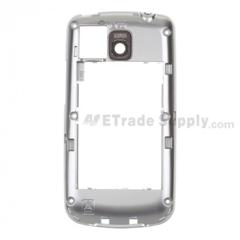 For LG Optimus One with Google P503 Rear Housing  Replacement - Silver - Grade S+