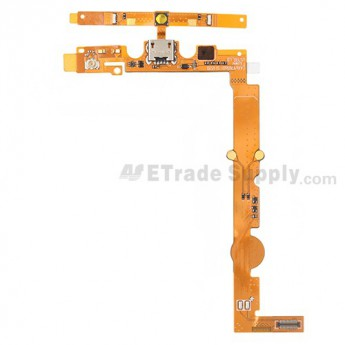 For LG Splendor US730 Charging Port Flex Cable Ribbon  Replacement - Grade S+