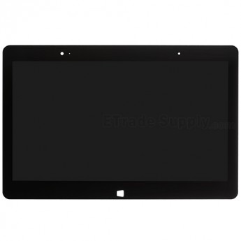 For LG Tab-Book Z160 LCD Screen and Digitizer Assembly Replacement - Black - Grade S+