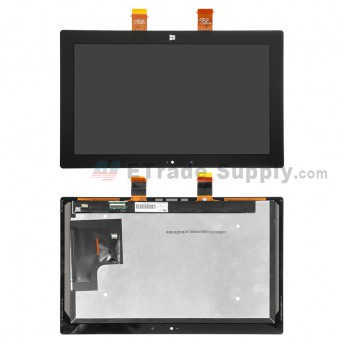 For Microsoft Surface Pro LCD Screen and Digitizer Assembly Replacement - Black - With Logo - Grade S+