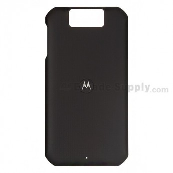 For Motorola Double V XT626 Battery Door Replacement - Black - Grade S+