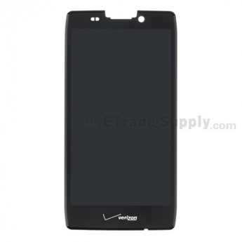 For Motorola Droid Razr MAXX HD, XT926 LCD Screen and Digitizer Assembly Replacement - Black - With Logo - Grade S