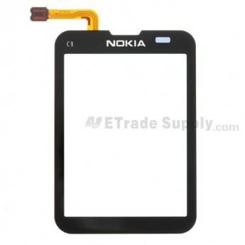For Nokia C3 Digitizer Touch Screen Replacement - Grade S+