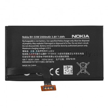 For Nokia Lumia 1020 Battery Replacement (2000 mAh) - Grade S+