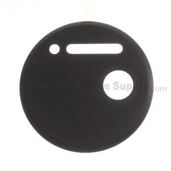 For Nokia Lumia 1020 Rear Camera Cover Replacement - Black - Grade S+